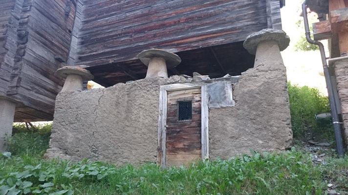 typisches Speichergebäude