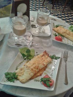 Frühstück im Strudel-Haus