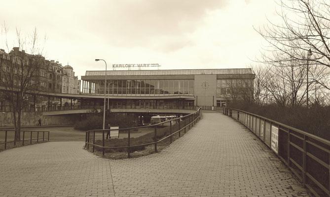 Karlsbad, unterer Bahnhof
