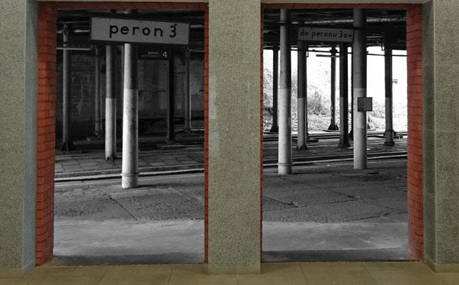 Blick in den unteren, nicht modernisierten Bahnhofsteil
