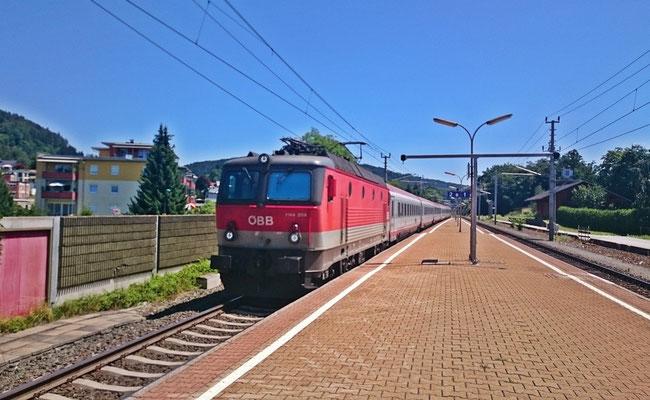 mein IC nach Salzburg