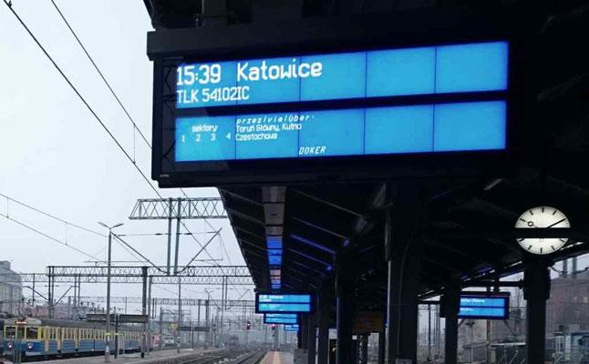 an Anzeigetafeln mangelt es dem Bahnhof künftig nicht