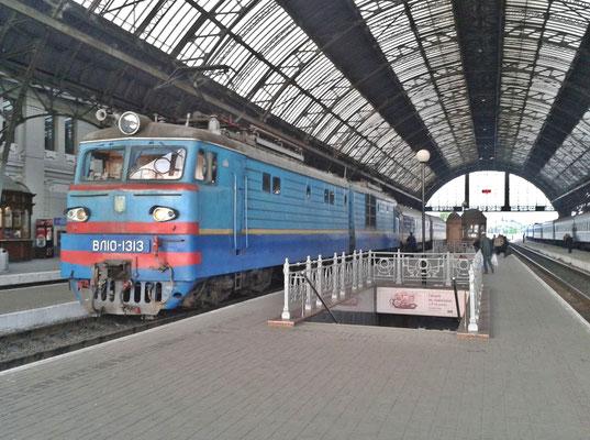 Einfahrt Lviv
