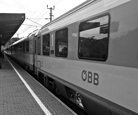 Zug in Pörtschach