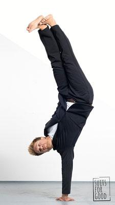 Photo: Luca Abbiento Model: Dave Grossmann @dave.grossmann © Suits For Good