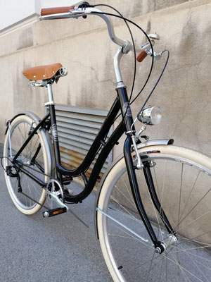 Glanzrad gemuffter Stahlrahmen handmade in Italy #bicycle #glanzrad #bicycle vienna #fahrrad wien