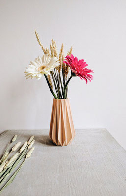 Etsy Qc, Coup de coeur international, Minimum Design, vase en bois