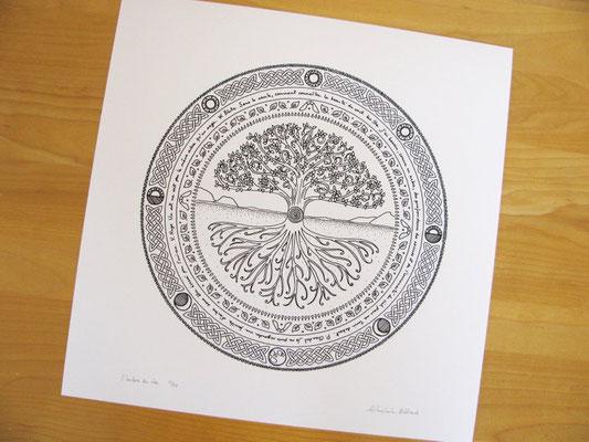 Mandala de Ghislain Bédard