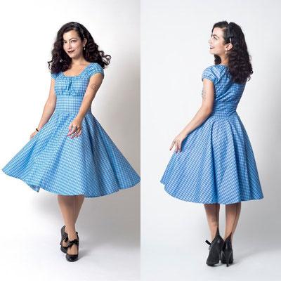 Etsy Qc, On a testé, putré-fashion, robe bleue