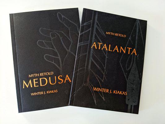Réécritures de mythes Medusa et Atalanta (en anglais seulement), de Winter J. Kiakas, 25$