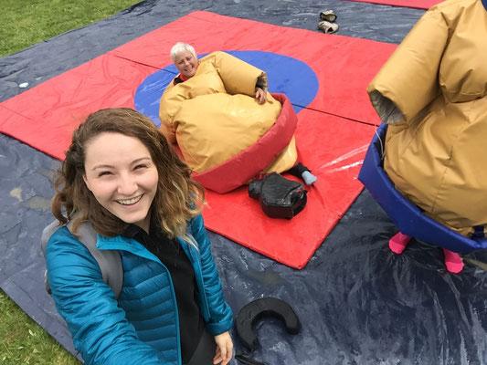 14h46 sumo à terre