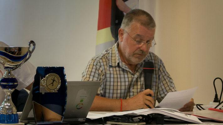 M. Jacques Boisse, trésorier de la JA Isle Handball