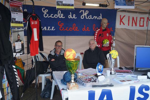 Stand 2017 de la JA Isle Handball
