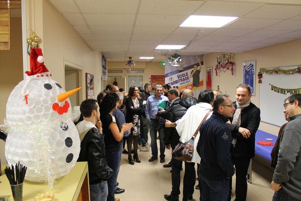 Inauguration du foyer : 19 décembre 2015