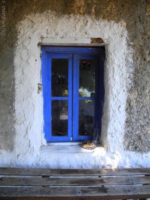 Monolia-die größte der Inseln-Euböa-Griechenland-Kapelle des heiligen Georg