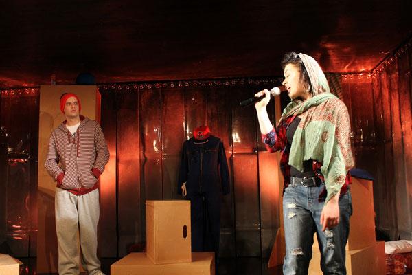 TÜRKISCH GOLD, Jugendstück (Foto: Landestheater Schwaben)