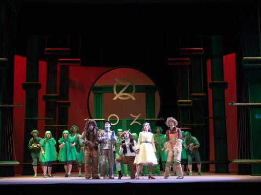 DER ZAUBERER VON OZ, Musical (Foto: Andreas Carben)