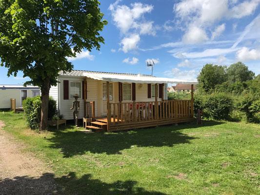 Emplacement résidentiel - Camping de la Maye - Le Crotoy