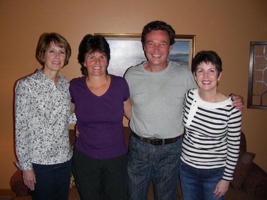 Joanne, Erika, Bert, Janet