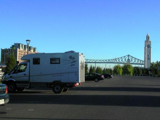 Übernachtungsplatz in Montréal