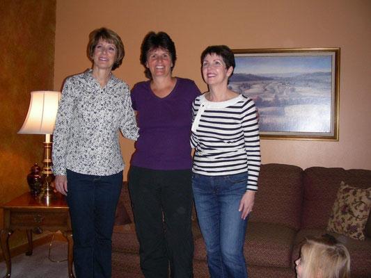 Joanne, Erika, Janet