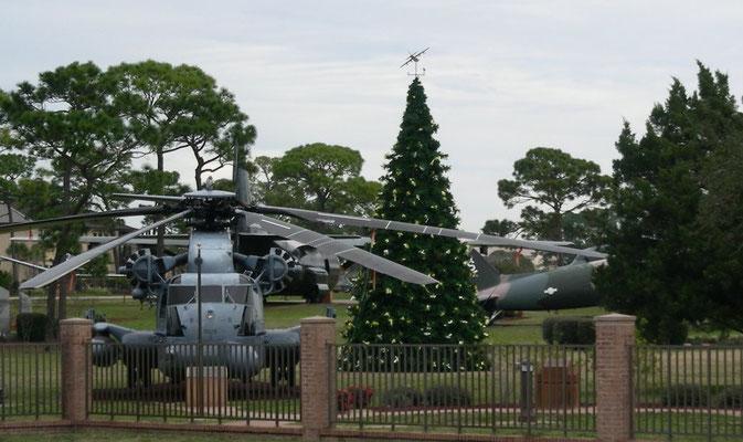 """Dies ist der """"pensionierte Helikopter"""" von Bert"""