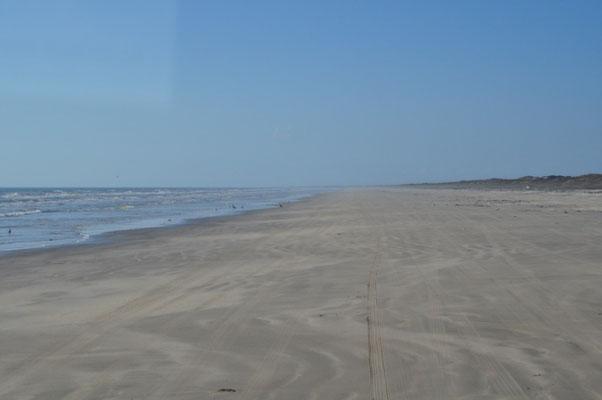 Piste am Strand