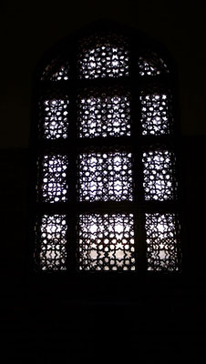Latticed window, Mausoleum of Sultan Sanjar