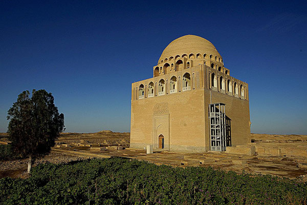 "Mausoleum ""Dar-ul Ahira"" (The Other World) of Sultan Ahmad Sanjar (1086-1157) - the last Sultan from a dynasty of the Great Turkmen-Seljuks"