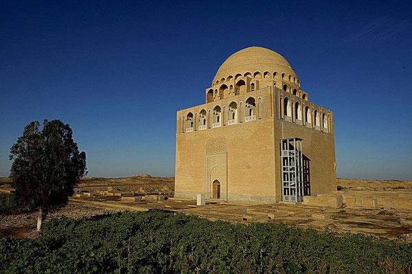 "Mausoleum ""Dar-ul Ahira"" (The Other World) of Sultan Ahmad Sanjar (1086-1157) - the last Sultan from a dynasty of the Great Turkmen-Seljuks"