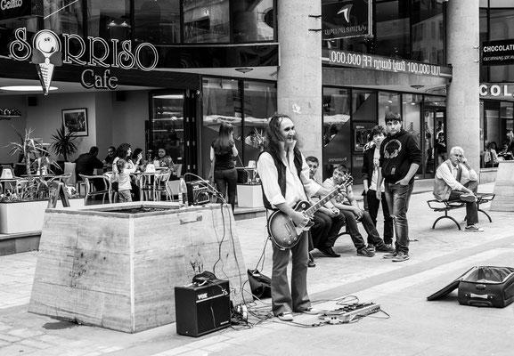 Yerevan, Armenia - Street musician