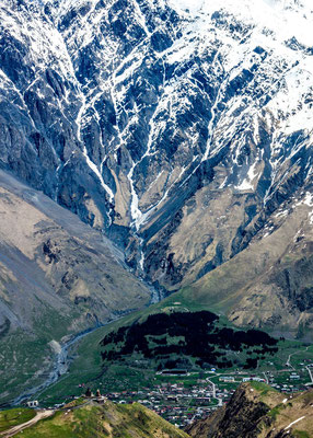 The town of Stepantsminda (also called Kazbegi) itself is charming and a wonderful base camp for exploring the region further.
