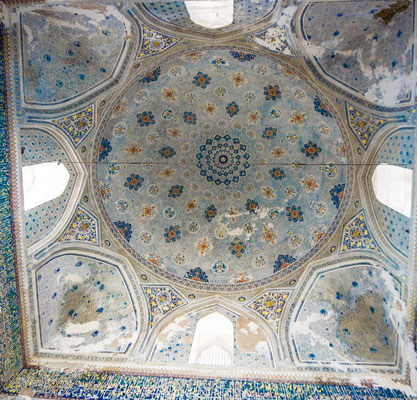 dome of the Kok-Gumbaz mosque