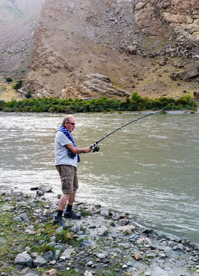 Also fishing in the Panj River is possible