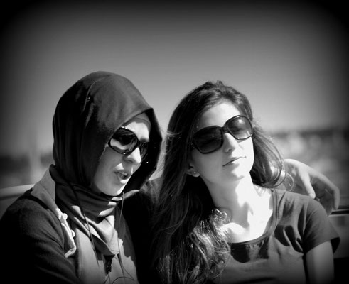 Istanbul - Two young woman, two tradition