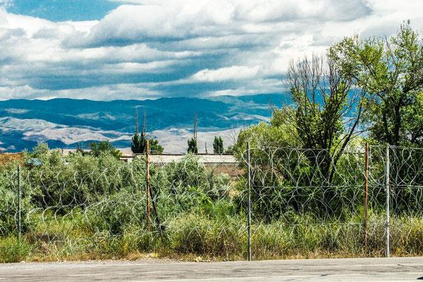 border to Kazakhstan