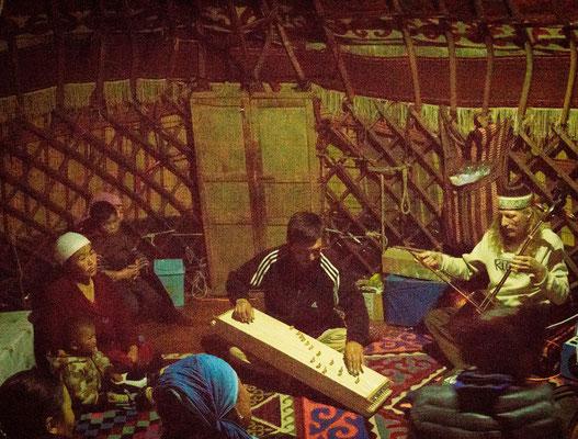 concert in the yurt
