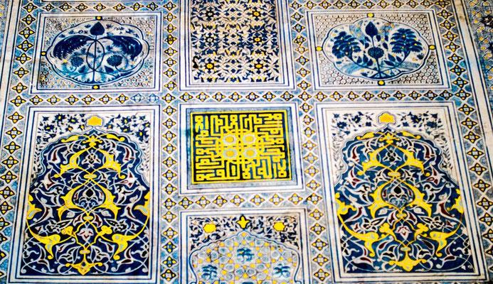 pattern on ceramic tile