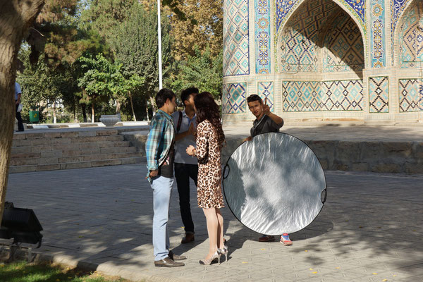 Bukhara, Uzbekistan - colleagues