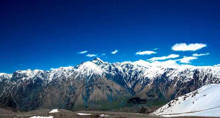 Mt Kuro 4071m  and Mt Shiro  4050m