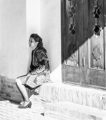 Khiva, Uzbekistan - local woman