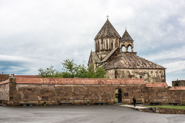 Monastery of Gandzasar (treasure mountain or hilltop treasure in Armenian) The monastery holds relics believed to belong to St. John the Baptist