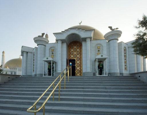 entrance to mausoleum