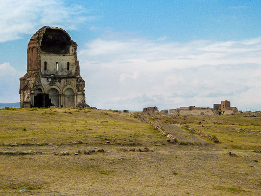 The remains of the church of the Holy Redeemer