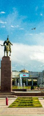 Statue of Manas