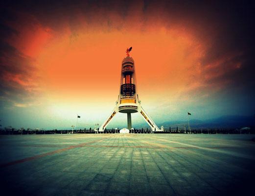 Neutrality Arch of Turkmenistan