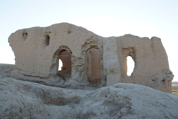 the domed room on the upper storey of the Lesser kyz kala