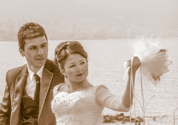 Trabzon, Turkey - Wedding couple