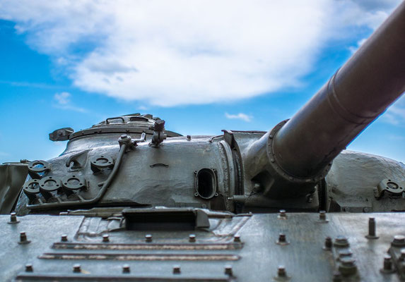 Gagik Avsharyan's restored T-72 tank