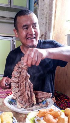 Saidali, my tour operator for Tajikistan